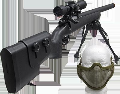 Forest City Surplus FN® SPR A5M Bolt Action Sniper Rifle Bundles